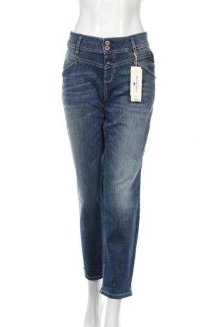 Női farmernadrág Tom Tailor, Méret XL, Szín Kék, 98% pamut, 2% elasztán, Ár 15840 Ft