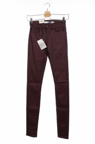 Γυναικείο παντελόνι Vero Moda, Μέγεθος XXS, Χρώμα Κόκκινο, 77% βισκόζη, 20% πολυαμίδη, 3% ελαστάνη, Τιμή 20,79€