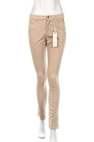 Γυναικείο κοτλέ παντελόνι Esprit, Μέγεθος XS, Χρώμα  Μπέζ, 90% βαμβάκι, 8% άλλα υλικά, 2% ελαστάνη, Τιμή 29,32€