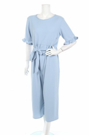Γυναικεία σαλοπέτα Boohoo, Μέγεθος L, Χρώμα Μπλέ, 95% πολυεστέρας, 5% ελαστάνη, Τιμή 20,04€