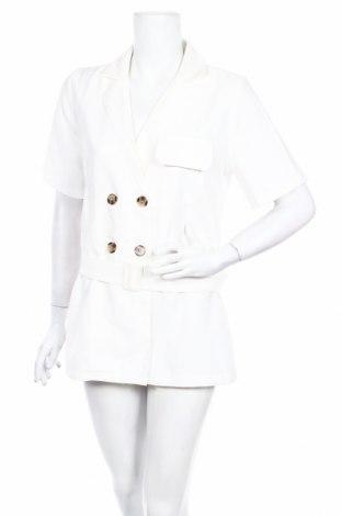 Γυναικεία σαλοπέτα Boohoo, Μέγεθος M, Χρώμα Λευκό, Πολυεστέρας, Τιμή 18,19€