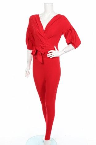 Γυναικεία σαλοπέτα Boohoo, Μέγεθος M, Χρώμα Κόκκινο, 95% πολυεστέρας, 5% ελαστάνη, Τιμή 17,81€