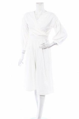 Γυναικεία σαλοπέτα Boohoo, Μέγεθος L, Χρώμα Λευκό, 95% πολυεστέρας, 5% ελαστάνη, Τιμή 15,59€