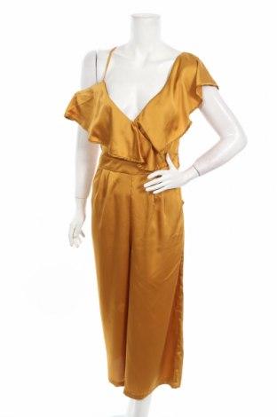 Γυναικεία σαλοπέτα Boohoo, Μέγεθος M, Χρώμα Κίτρινο, Πολυεστέρας, Τιμή 19,30€