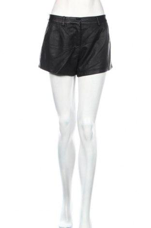 Γυναικείο κοντό δερμάτινο παντελόνι Sensation, Μέγεθος L, Χρώμα Μαύρο, Δερματίνη, Τιμή 11,46€
