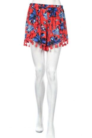 Γυναικείο κοντό παντελόνι Boohoo, Μέγεθος L, Χρώμα Πολύχρωμο, Πολυεστέρας, Τιμή 14,10€