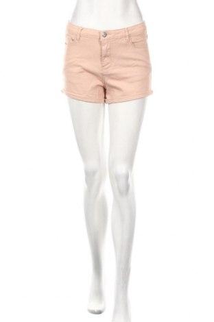 Pantaloni scurți de femei Cropp, Mărime M, Culoare Roz, 98% bumbac, 2% elastan, Preț 79,58 Lei