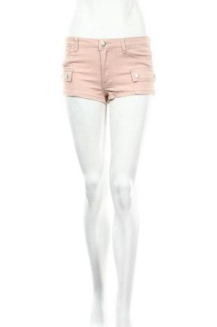 Γυναικείο κοντό παντελόνι Cropp, Μέγεθος S, Χρώμα Ρόζ , 98% βαμβάκι, 2% ελαστάνη, Τιμή 3,48€