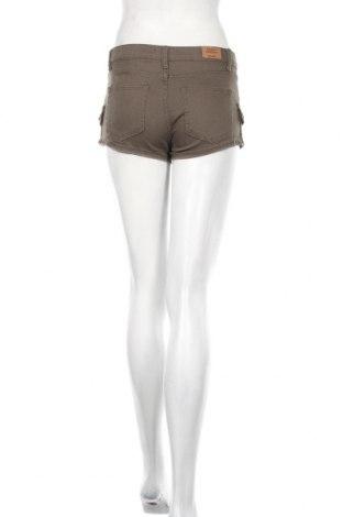 Γυναικείο κοντό παντελόνι Cropp, Μέγεθος XS, Χρώμα Καφέ, 98% βαμβάκι, 2% ελαστάνη, Τιμή 3,34€