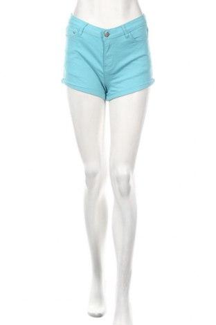 Dámske kraťasy  Cropp, Veľkosť XS, Farba Modrá, 98% bavlna, 2% elastan, Cena  21,65€