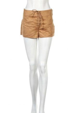 Γυναικείο κοντό παντελόνι H&M, Μέγεθος S, Χρώμα Καφέ, Πολυεστέρας, Τιμή 9,38€