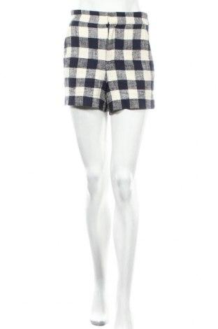 Γυναικείο κοντό παντελόνι Zara, Μέγεθος XS, Χρώμα Εκρού, 88% βαμβάκι, 11% λινό, 1% ελαστάνη, Τιμή 13,37€