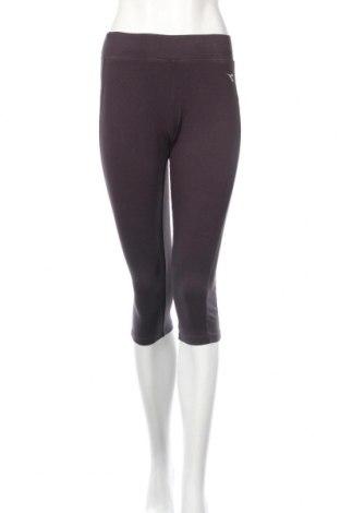Női leggings Diadora, Méret M, Szín Szürke, 95% pamut, 5% elasztán, Ár 7840 Ft