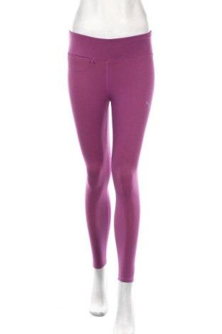 Női leggings PUMA, Méret S, Szín Lila, 57% pamut, 32% poliészter, 11% elasztán, Ár 13120 Ft