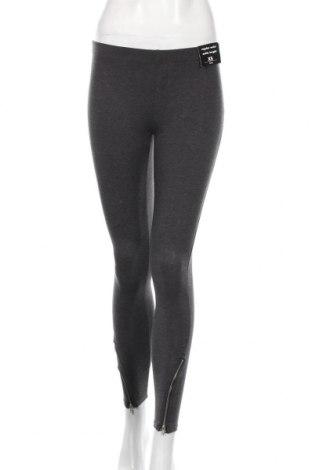 Női leggings Sinsay, Méret XS, Szín Szürke, 60% pamut, 35% poliészter, 5% elasztán, Ár 5440 Ft