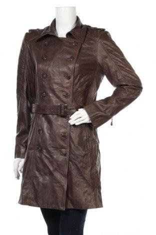 Dámský kožený přechodný kabát  Onstage, Rozměr L, Barva Hnědá, Pravá kůže, Cena  1375,00Kč