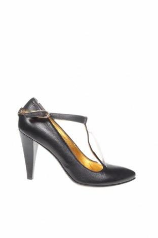 Încălțăminte de damă Just Cavalli, Mărime 37, Culoare Negru, Piele naturală, Preț 468,00 Lei