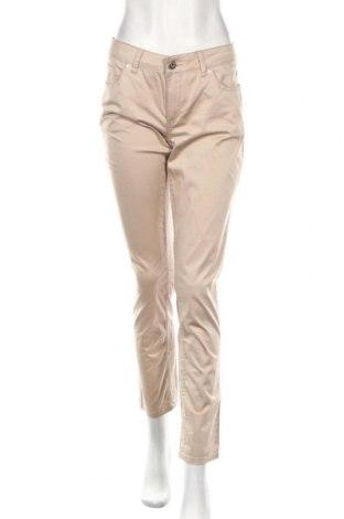 Dámske nohavice Comma,, Veľkosť S, Farba Béžová, 98% bavlna, 2% elastan, Cena  25,01€