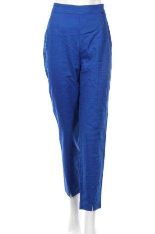 Γυναικείο παντελόνι Reserved, Μέγεθος L, Χρώμα Μπλέ, 52% βαμβάκι, 46% βισκόζη, 2% ελαστάνη, Τιμή 20,79€