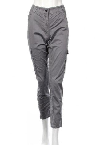 Dámske nohavice H&M, Veľkosť XXL, Farba Sivá, 98% bavlna, 2% elastan, Cena  12,78€