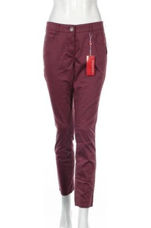 Γυναικείο παντελόνι Laura Di Sarpi, Μέγεθος L, Χρώμα Βιολετί, 97% βαμβάκι, 3% ελαστάνη, Τιμή 20,36€