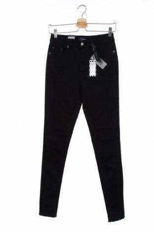 Γυναικείο παντελόνι Pieces, Μέγεθος M, Χρώμα Μαύρο, 88% βαμβάκι, 9% πολυεστέρας, 3% ελαστάνη, Τιμή 26,68€