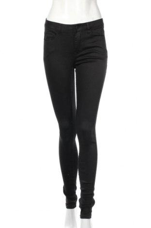 Dámske nohavice Pieces, Veľkosť M, Farba Čierna, 30% bavlna, 39% iné tkanivá , 21% polyester, 1% elastan, Cena  14,45€