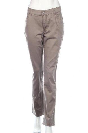 Γυναικείο παντελόνι Pioneer, Μέγεθος L, Χρώμα Καφέ, 97% βαμβάκι, 3% ελαστάνη, Τιμή 21,90€
