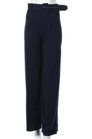 Γυναικείο παντελόνι Quiz, Μέγεθος S, Χρώμα Μπλέ, 96% πολυεστέρας, 4% ελαστάνη, Τιμή 21,53€