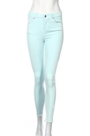 Γυναικείο παντελόνι Reserved, Μέγεθος M, Χρώμα Μπλέ, 70% βαμβάκι, 28% πολυεστέρας, 2% ελαστάνη, Τιμή 20,79€