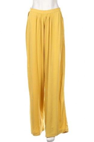 Γυναικείο παντελόνι Reserved, Μέγεθος S, Χρώμα Κίτρινο, Βισκόζη, Τιμή 15,16€