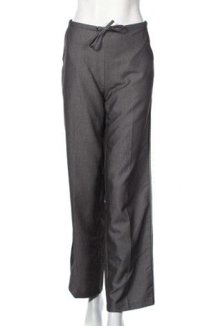 Дамски панталон Reserved, Размер L, Цвят Сив, 85% полиестер, 15% вискоза, Цена 3,36лв.