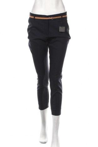 Pantaloni de femei Reserved, Mărime M, Culoare Albastru, 50% bumbac, 46% poliamidă, 4% elastan, Preț 106,11 Lei