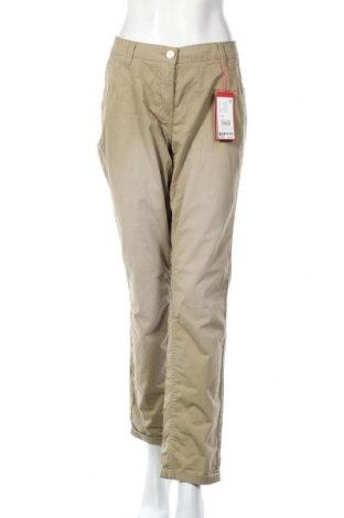 Γυναικείο παντελόνι S.Oliver, Μέγεθος XL, Χρώμα Πράσινο, Βαμβάκι, Τιμή 25,61€