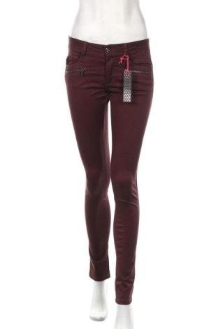 Γυναικείο παντελόνι Street One, Μέγεθος S, Χρώμα Κόκκινο, 97% βαμβάκι, 3% ελαστάνη, Τιμή 25,61€