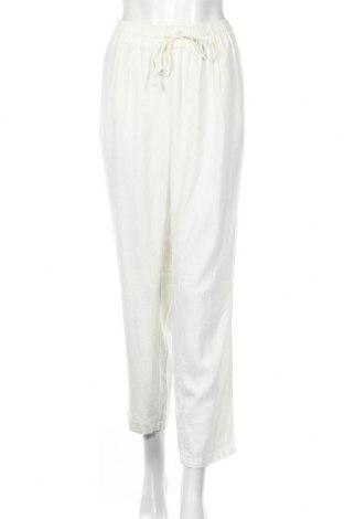 Dámské kalhoty  Vero Moda, Rozměr XL, Barva Krémová, 55% len, 45% viskóza, Cena  543,00Kč