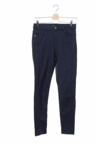 Γυναικείο παντελόνι Yfl Reserved, Μέγεθος M, Χρώμα Μπλέ, 97% βαμβάκι, 3% ελαστάνη, Τιμή 15,59€