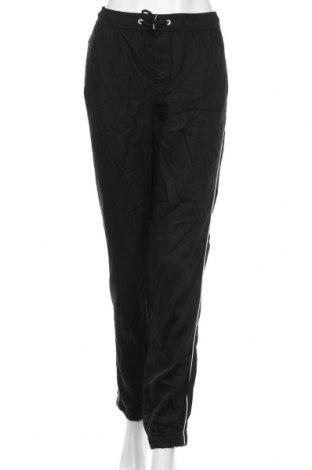 Γυναικείο παντελόνι Yfl Reserved, Μέγεθος L, Χρώμα Μαύρο, 50% βισκόζη, 50% lyocell, Τιμή 20,10€