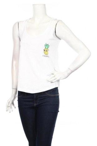 Γυναικείο αμάνικο μπλουζάκι Cropp, Μέγεθος S, Χρώμα Λευκό, Βαμβάκι, Τιμή 5,99€