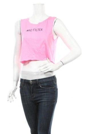 Дамски потник Sinsay, Размер M, Цвят Розов, 60% памук, 40% полиестер, Цена 4,64лв.