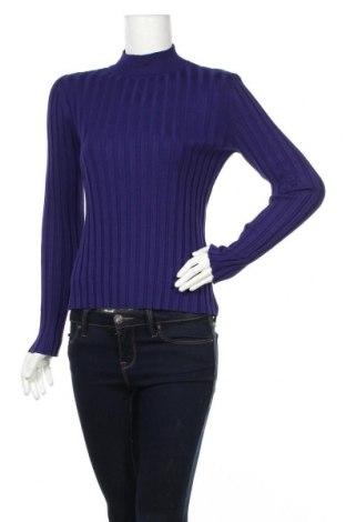 Дамски пуловер Amaro, Размер M, Цвят Лилав, 70% вискоза, 30% полиамид, Цена 28,00лв.