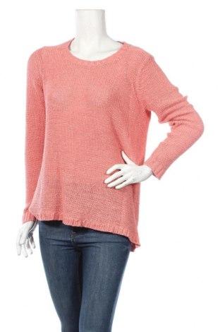 Дамски пуловер Andrea, Размер L, Цвят Розов, 65% акрил, 35% полиамид, Цена 6,83лв.