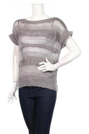 Γυναικείο πουλόβερ Sutherland, Μέγεθος M, Χρώμα Γκρί, 66% βαμβάκι, 32%ακρυλικό, 1% μεταλλικά νήματα, 1% πολυαμίδη, Τιμή 2,21€