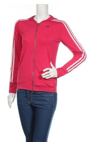Γυναικείο φούτερ Adidas, Μέγεθος XS, Χρώμα Ρόζ , Τιμή 21,64€