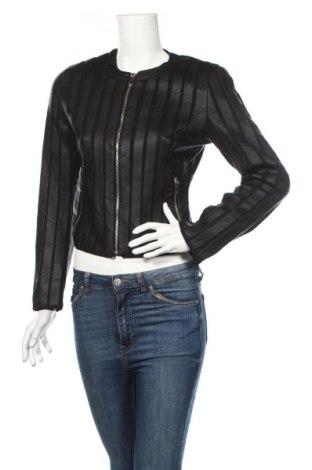 Dámská kožená bunda , Rozměr XS, Barva Černá, Eko kůže, Cena  703,00Kč