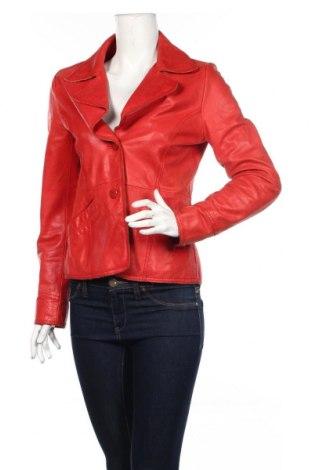 Dámská kožená bunda  Bik Bok, Rozměr M, Barva Červená, Pravá kůže, Cena  1156,00Kč