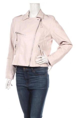 Γυναικείο δερμάτινο μπουφάν H&M, Μέγεθος XL, Χρώμα Ρόζ , Δερματίνη, Τιμή 20,36€