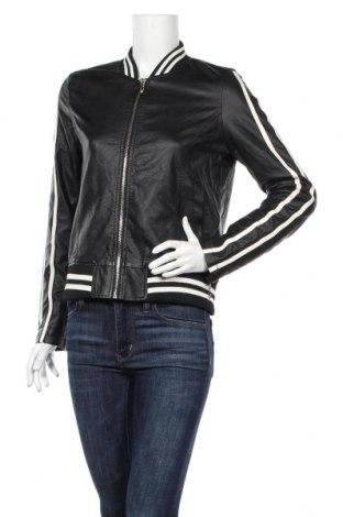 Γυναικείο δερμάτινο μπουφάν Miss Luma, Μέγεθος S, Χρώμα Μαύρο, Δερματίνη, Τιμή 24,19€
