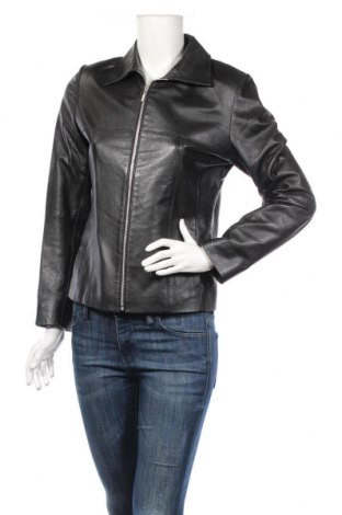 Γυναικείο δερμάτινο μπουφάν Montego, Μέγεθος S, Χρώμα Μαύρο, Γνήσιο δέρμα, Τιμή 71,29€