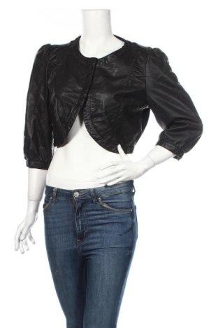 Dámská kožená bunda  Only, Rozměr XL, Barva Černá, Eko kůže, Cena  594,00Kč
